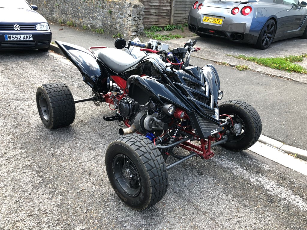 FOR SALE - Super Quad  Yamaha R1 Raptor quadbike conversions